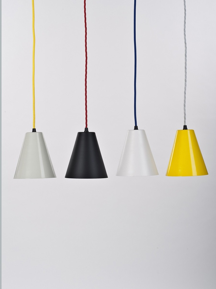 Smoke Grey 'Triangle' Pendant light by Workroom Design - Douglas + Bec