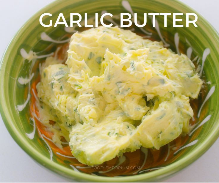 Find here our mediterranean style homemade garlic butter.   #Garlicbutter #homemade #Recipe #Mediterraneanfood #food #LasTapas #tapas