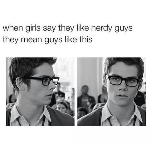 Imagen de nerd, dylan o'brien, and Hot