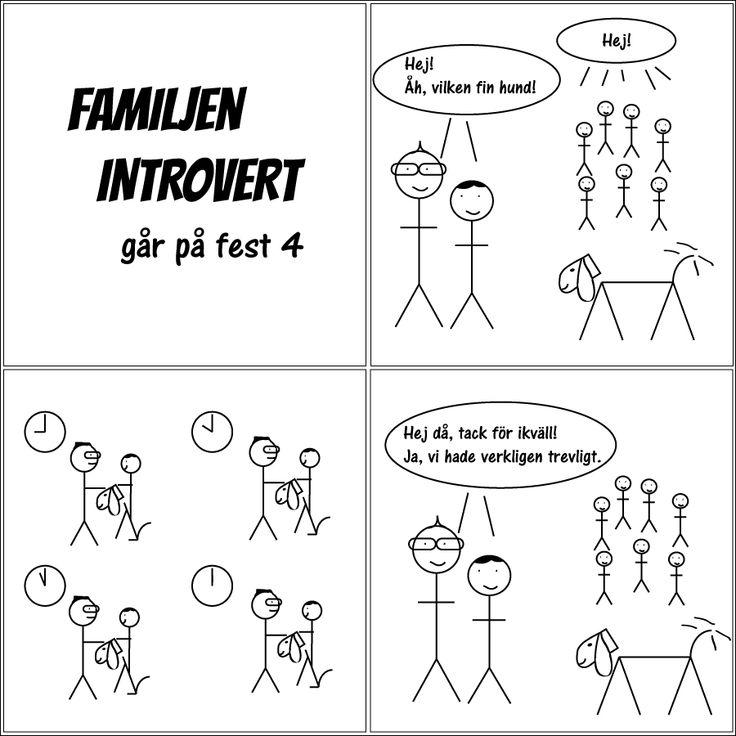 går på fest 4 | Familjen Introvert  #humor #comic #kärlek #fredag #solitude #serie #serier #livet #fredagsmys #familj #familjeliv #hsp #egentid #ensam #själv #egen #baravara #högsensitiv #självsam #valborg #social #hemma #hund #hundliv #fest #vänner