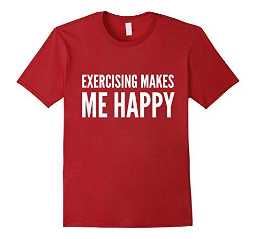 Exercising Makes Me Happy Fitness Workout T-Shirt - Male 2XL - Cranberry Bowes Fitness http://www.amazon.com/dp/B01BNRC600/ref=cm_sw_r_pi_dp_H.zVwb10G6AFT