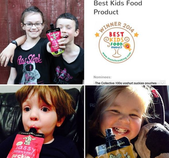 we're feelin' rather chuffed being up for a best kids food product Munch award. 'tis not too late to vote peeps *hint-hint, wink*