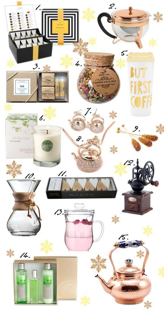 Christmas gift ideas for tea and coffee drinkers
