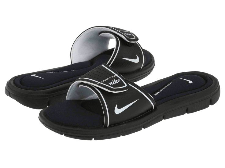 Memory foam Nike slides                                                                                                                                                                                 More