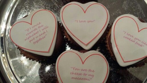 Cupcakes Love Notes!