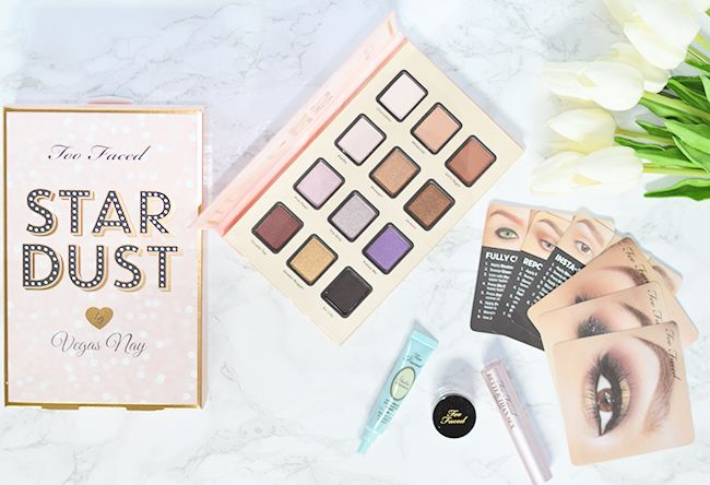Too Faced Stardust by Vegas Nay Palette review & swatches | oliveandivyblog.com