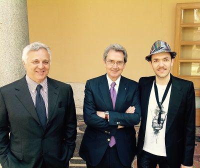 Piero Delle Monache al decimo anniversario della Casa del Jazz