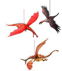 £5.00 DJECO Merciless Dragons, Hanging - Construct these fantastical dragons and hang them to soar and swoop, around your room.