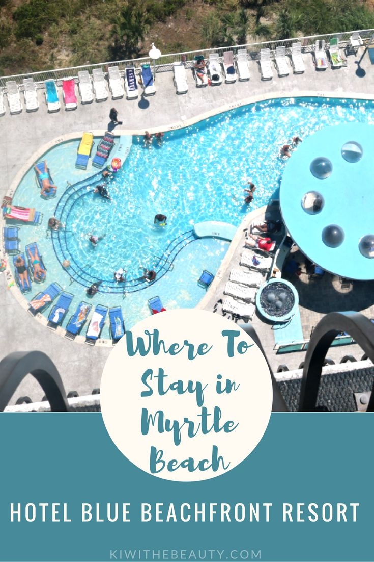 WHERE TO STAY IN MYRTLE BEACH | Hotel Blue BeachFront Resort Review #TravelGuide #MyrtleBeach #MyrtleBeachHotel #WhereToStayMyrtleBeach #SouthCarolinaHotel