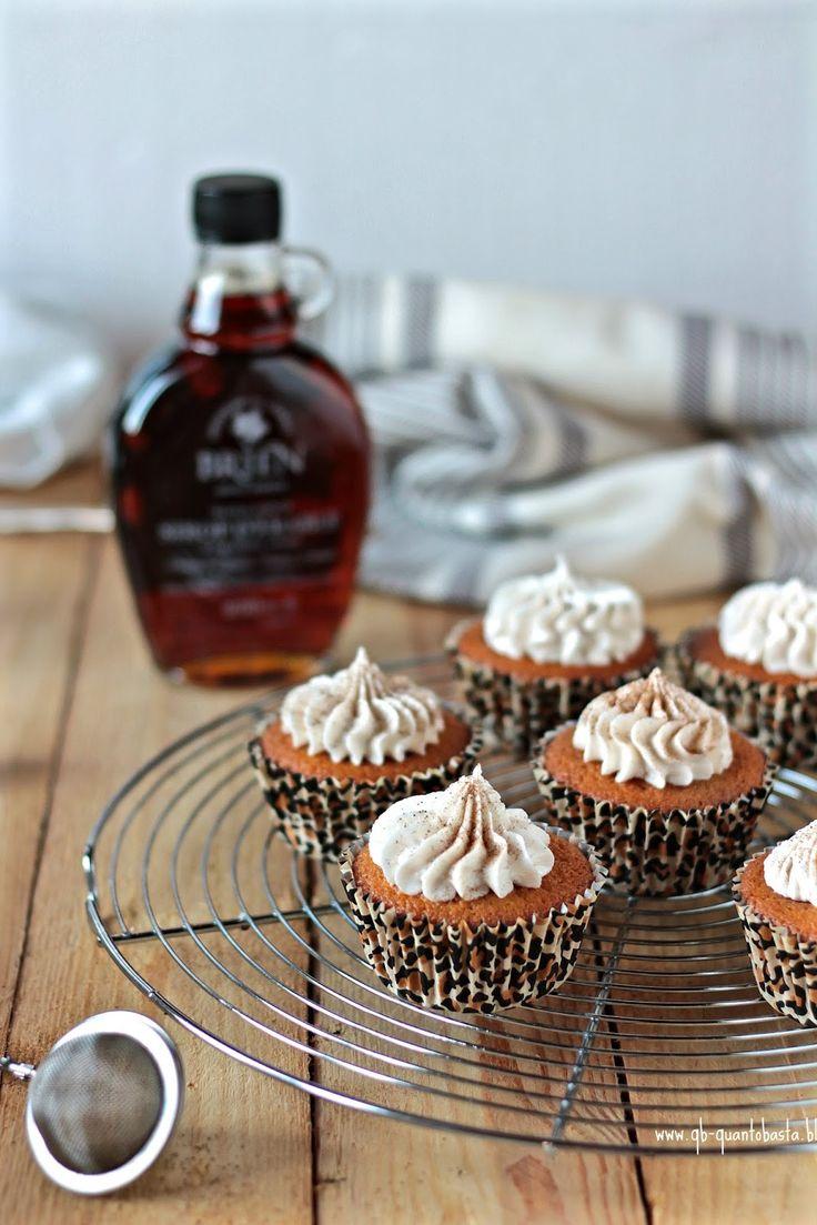 Cupcake allo sciroppo d'acero/ maple syrup cupcakes