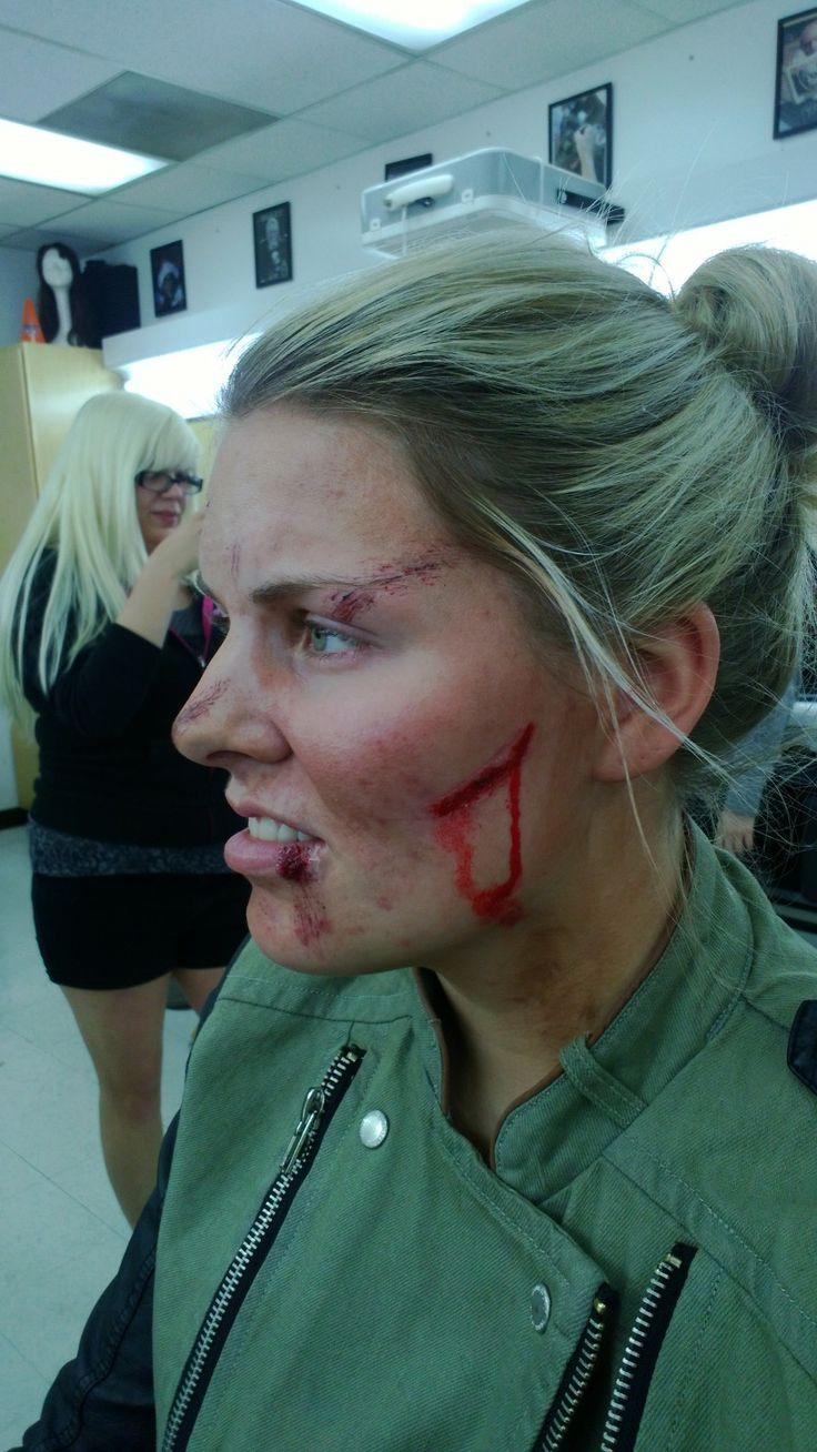 Last Survivor Zombie Attack Makeup Dani