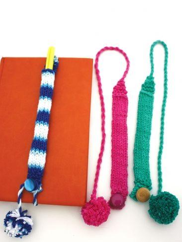 Pencil Holder   Yarn   Free Knitting Patterns   Crochet Patterns ...