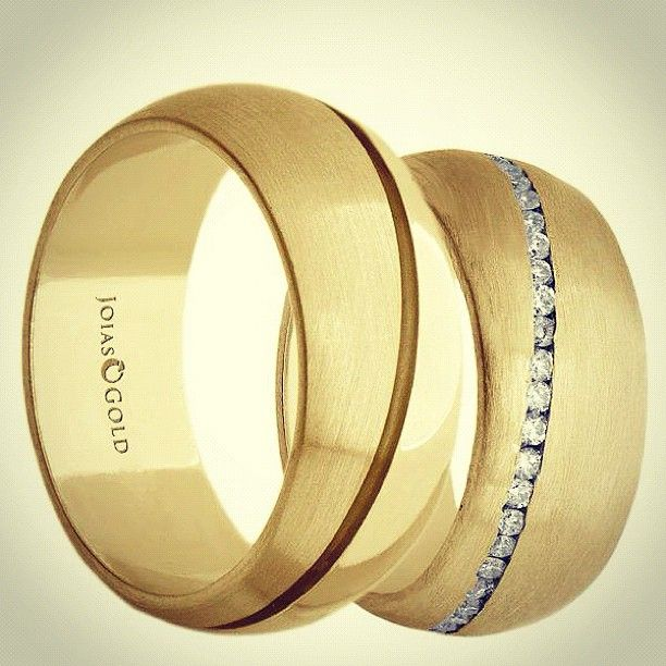 Alianças de casamento - @joiasgold- #webstagram #joiasgold #Aliança #Ouro #Joias…