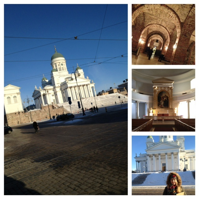 Sights in Helsinki - The Cathedral.