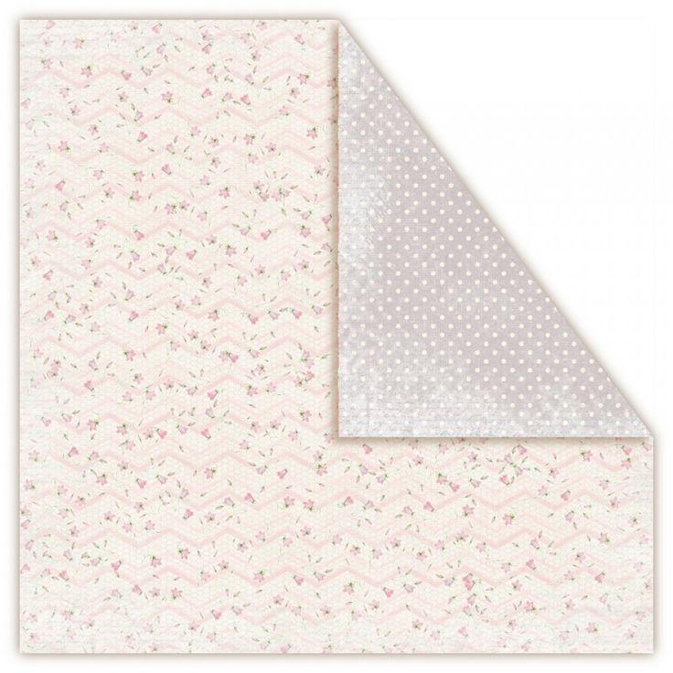 Nádherný scrapbookový papír z kolekce Misty Morningod UHK Gallery.Papír je archivační kvality, tedy bez ligninu a kyseliny, oboustranně potištěny krásnými vintage vzory.Gramáž: 250 g/m2.Rozměry listu jsou30,5 x 30,5 cm (12