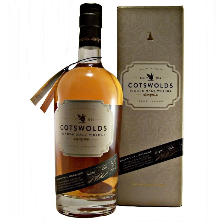 Cotswolds Single Malt Whisky Inaugural Release English available to buy online at specialist whisky shop whiskys.co.uk Stamford Bridge York
