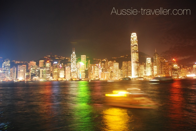 Hong Kong Skyline - Night