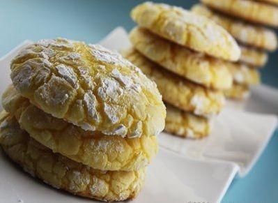 I biscotti al limone, golosi e profumati