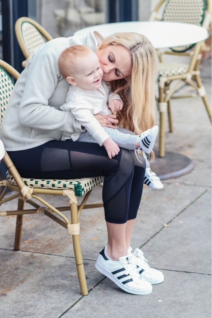 Baby Adidas Superstar unisex soft soled sneakers perfect for early walkers! Love the mommy and me matching look made easy!