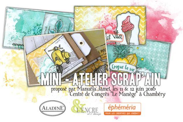 Mini-atelier scrapain