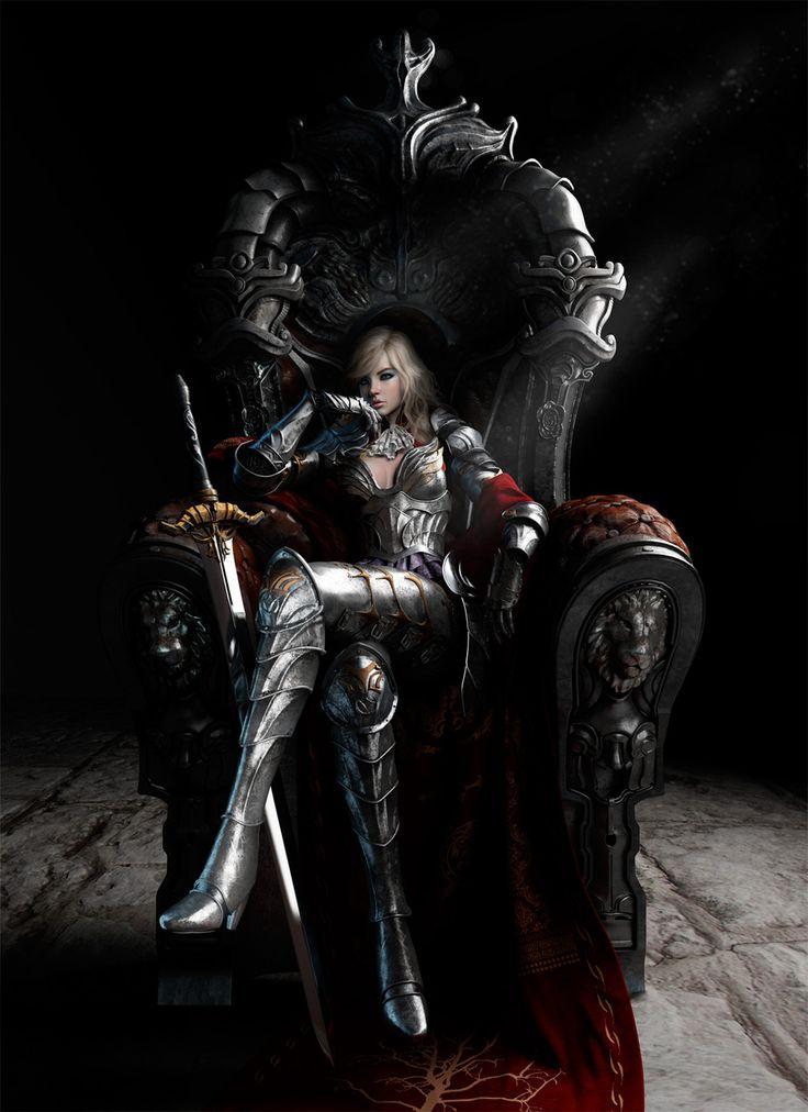 3D Art: Queen of the Monarchy - 3D, Concept art, FantasyCoolvibe – Digital Art