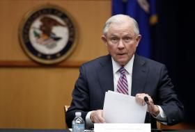 A woman who was charged with disorderly conduct for laughing during the confirmation of Attorney General Jeff Sessions has been found guilty and could face up to a year in prison. Desiree Fairooz has been convicted for laughing early in Mr Sessions' confirmation hearing after Alabama Senator Richard Shelby said that the future attorney general's … #BreakingNews #JeffSessions #TopStory #LatestNews #WorldNews