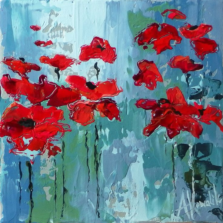 Poppies03 by szklanytygrys on deviantART