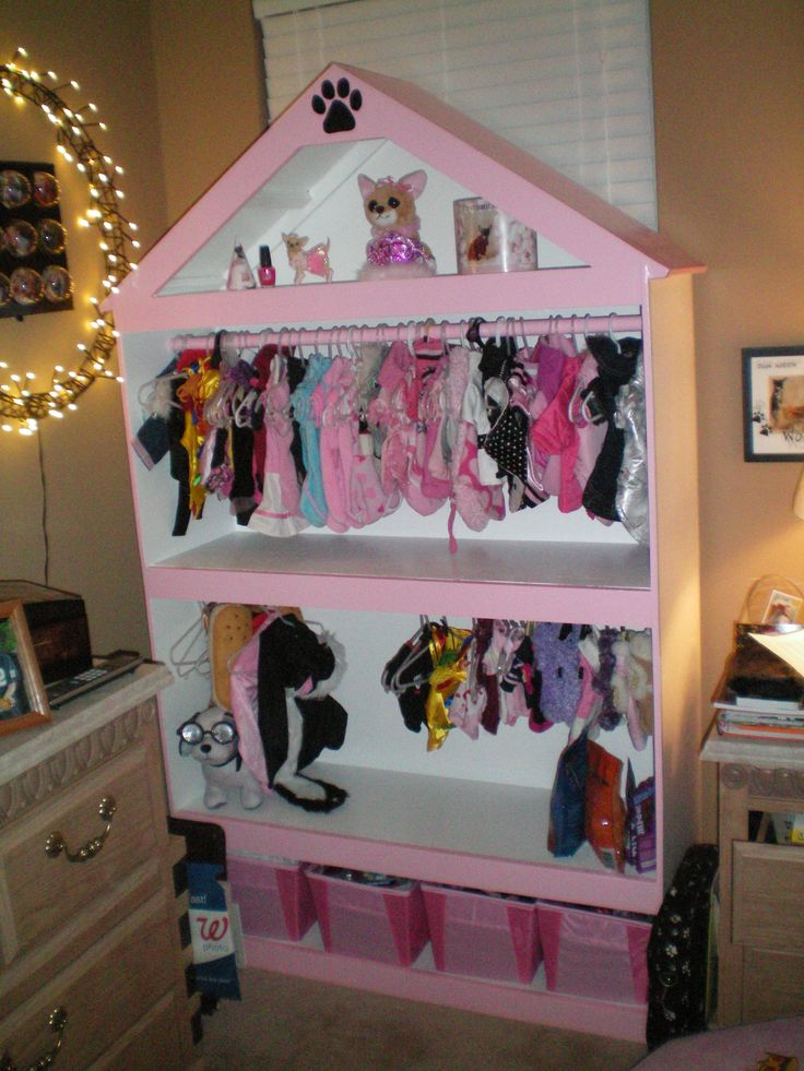 cute dog closet - this is awesome!