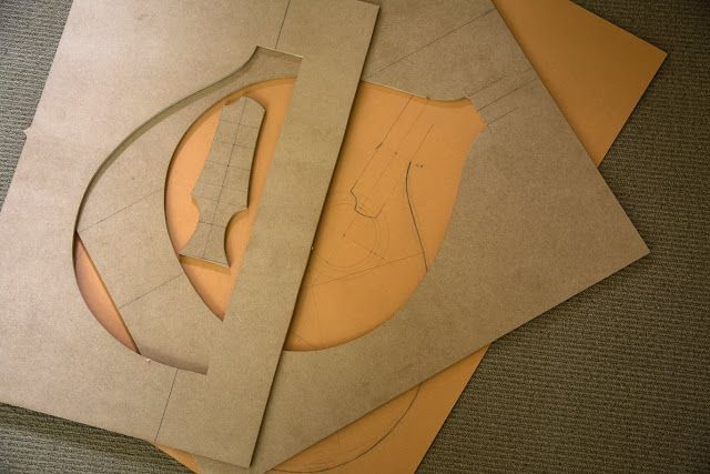 Wood With Strings: Irish Bouzouki - Fun With Moulds