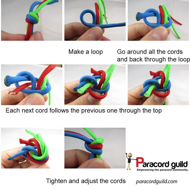 Double Matthew Walker Knot Instructions Paracord Knots