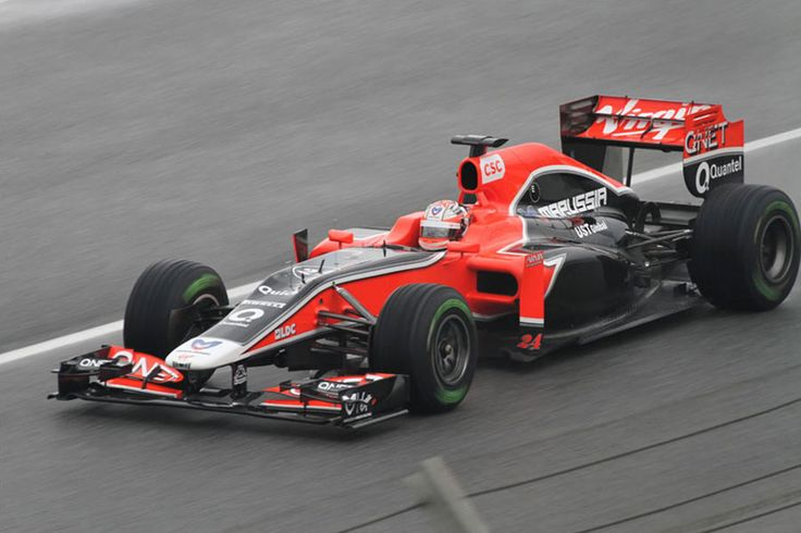 2011 Virgin MVR 02 - Cosworth (Timo Glock)
