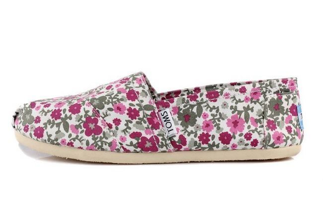 New Arrival Toms women shoes plum blossom