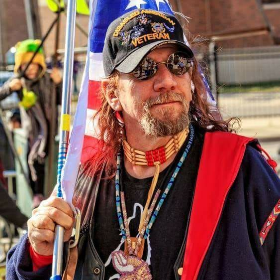"""Shawn Carr, """"As a Disabled Veteran let me make my opinion very clear. If you take a knee during the National Anthem you are not disrespecting me. YOU ARE HONORING ME. I sacrificed for your freedom to make that choice."""""""