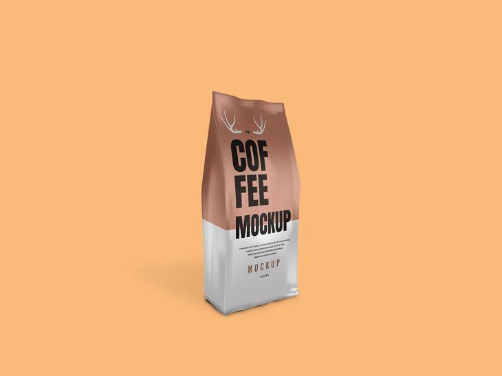 Coffee Bag Packaging Free Psd Mockup Mockup Free Psd Mockup Psd Free Packaging Mockup