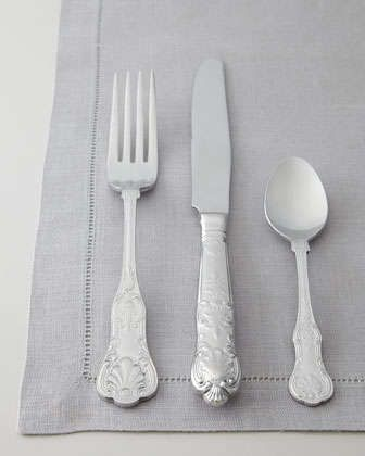 65-Piece Queens Flatware Service by Wallace Silversmiths at Neiman Marcus.