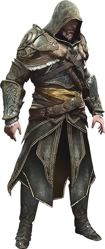 Ezio en Armadura de Maestro Asesino  por  IvanCEs                                                                                                                                                                                 Más