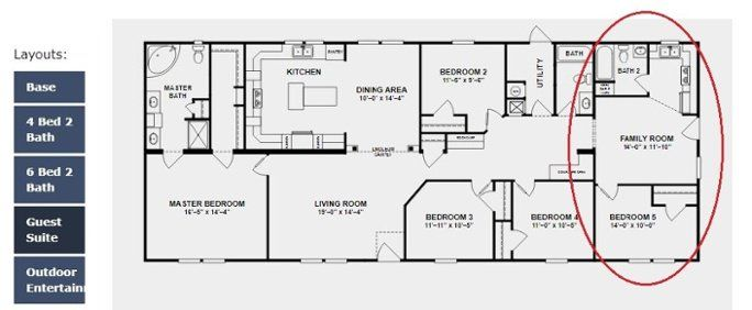 Two Suite To Ignore Homes Featuring Double Master Bedrooms Modular Home Floor Plans Mobile Home Floor Plans Master Suite Floor Plan
