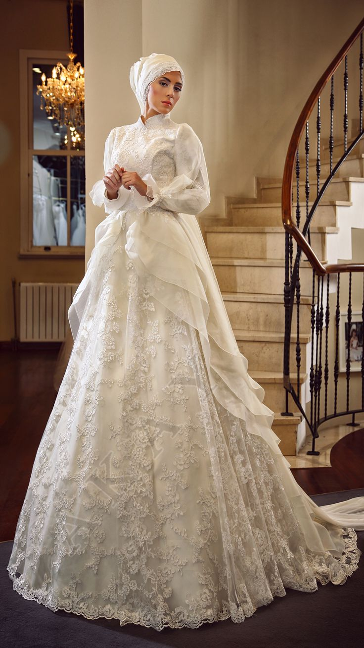 30 best tesettur gelinlik images on pinterest hijab wedding awesome muslim wedding dresses were sorry ombrellifo Image collections