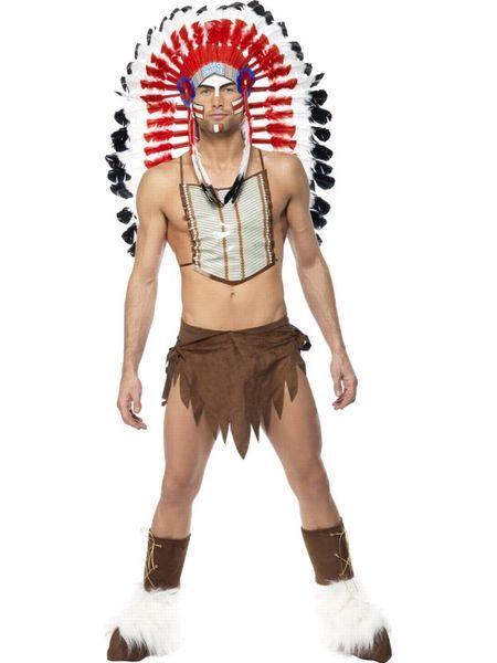 Kaikkien disko-orkestereiden isän, enon ja amerikanserkkun; Village Peoplen lisensoitu intiaaniasu. Village People tunnetaan ennen kaikkea diskohiteistään Y.M.C.A. ja In the Navy. Toinen yhtyeen tunnusmerkki ovat ryhmän jäsenten miehekkäät, eri ammatteihin perustuvat asut. Helposti tunnistettavista asuista johtuen Village People on suosittu naamiaisasu porukoille.  #naamiaismaailma