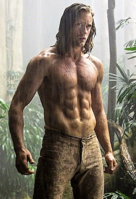 See the first photo of Alexander Skarsgård as an insanely ripped Tarzan for the upcoming flick The Legend of Tarzan - photo
