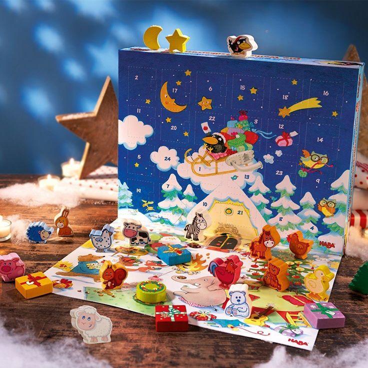 Haba 300749 Mein erster Adventskalender- Die Weihnachtsüberraschung ab 2 Jahren: Amazon.de: Spielzeug