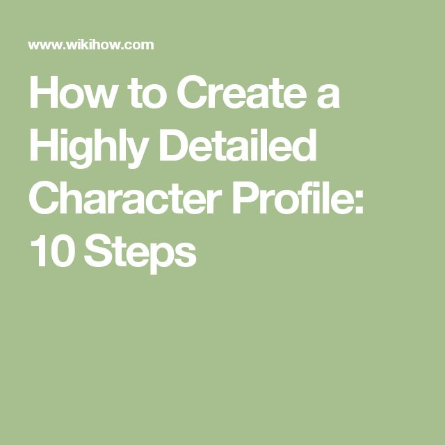 The 25+ best Character profile ideas on Pinterest Character - how to write a profile