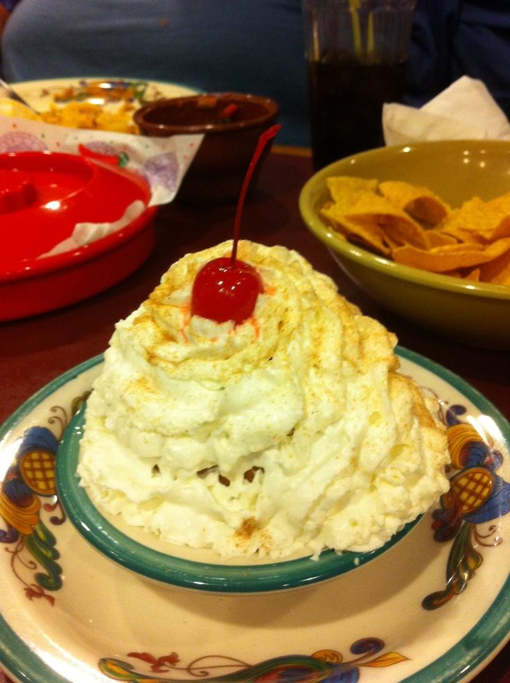 Mount Fried Ice Cream