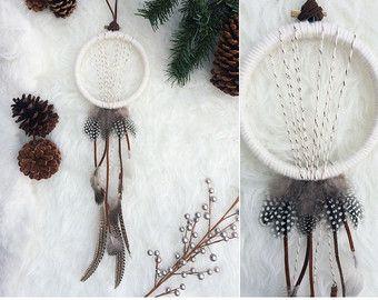 Gran atrapasueños atrapasueños bohemio moderno por handmadebyfofo