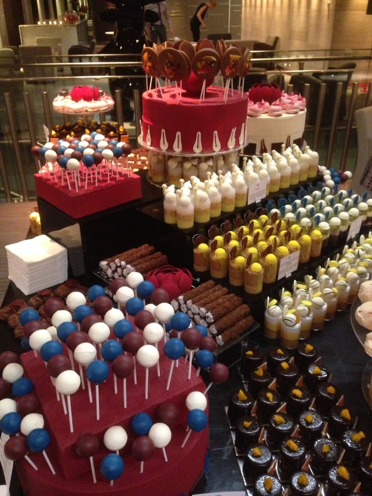 Dessert station by Burch & Purchese