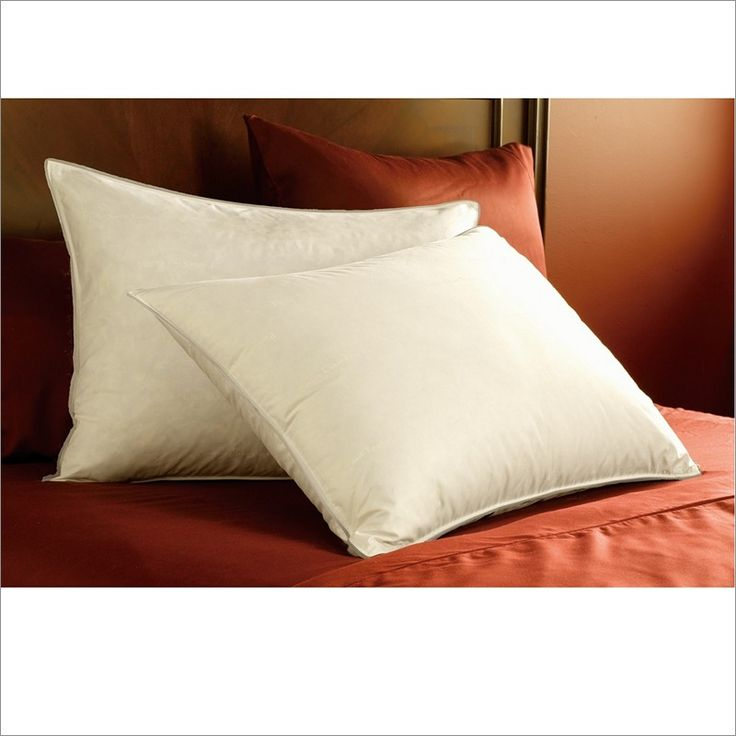 Pacific Coast Feather Co Eurofeather Pillow Bed Pillows