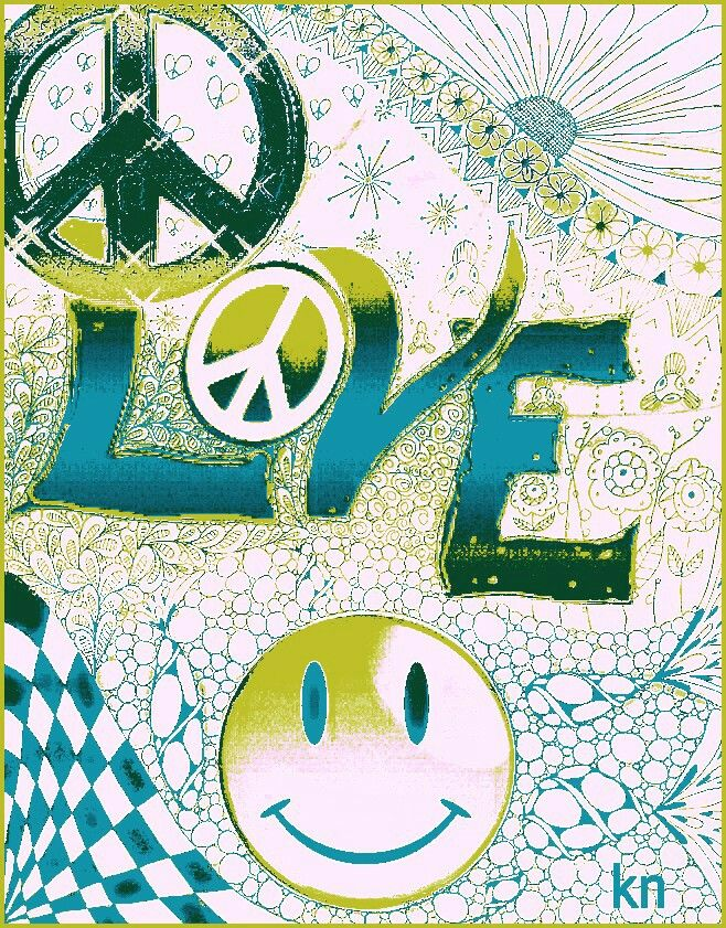 L❤️VE (Peace and Smiles)