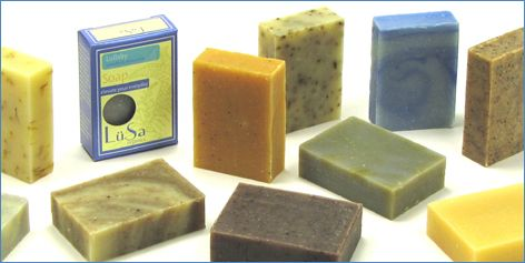 Handmade soap by a real person, not a machine and a faceless company