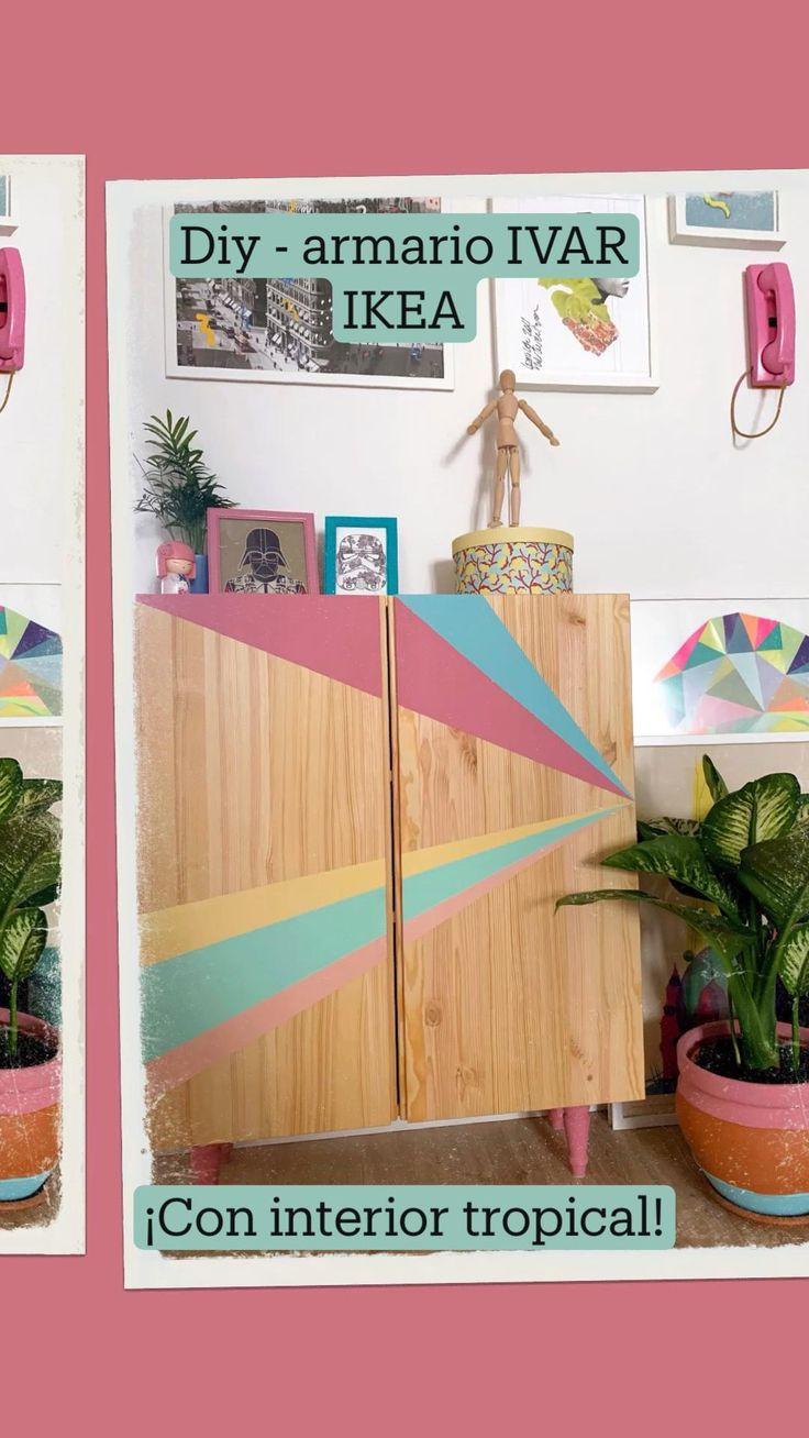 Chalk Paint Furniture, Ikea Furniture, Dining Room Furniture, Ikea I, Ikea Hack, Interior Tropical, Ikea Decor, Easy Home Decor, I Icon