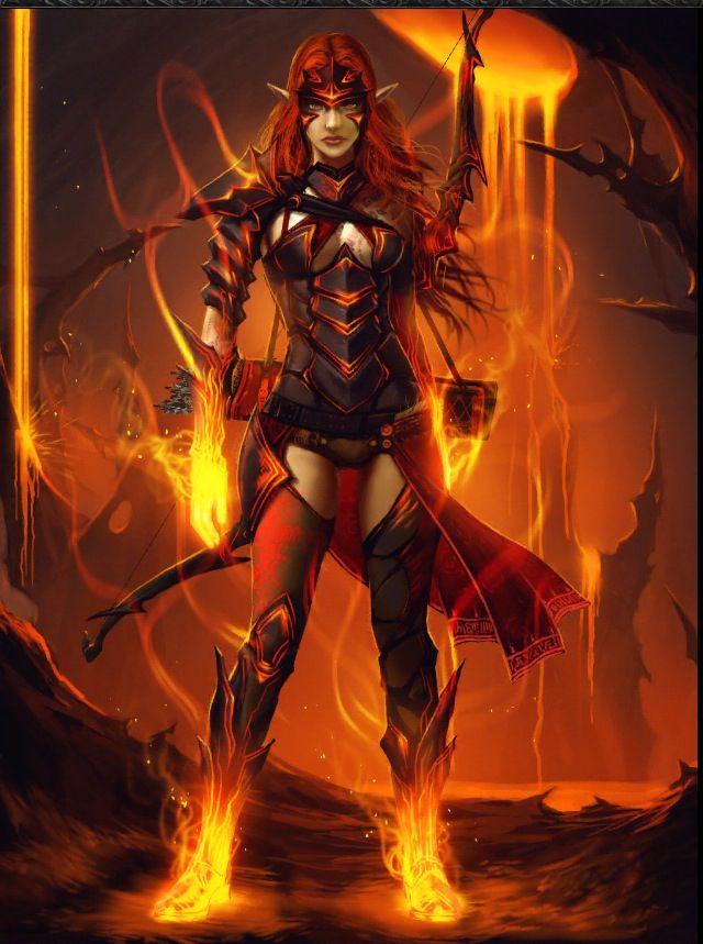 Vulcan fae archer | Hellfire | Fictional characters ...